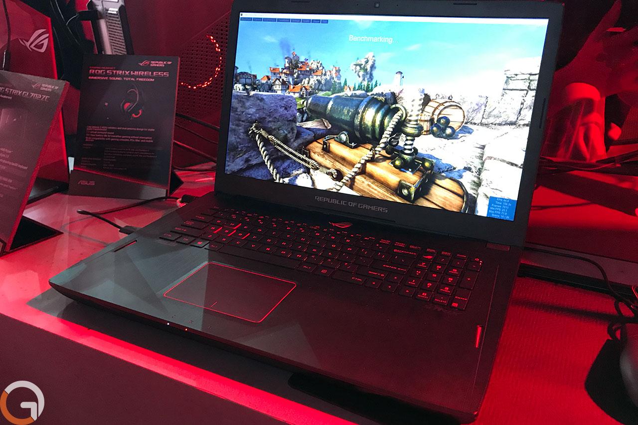 מחשב גיימינג ROG Strix GL702ZC עם מעבד AMD Ryzen (תמונה: רונן מנדזיצקי, גאדג'טי)
