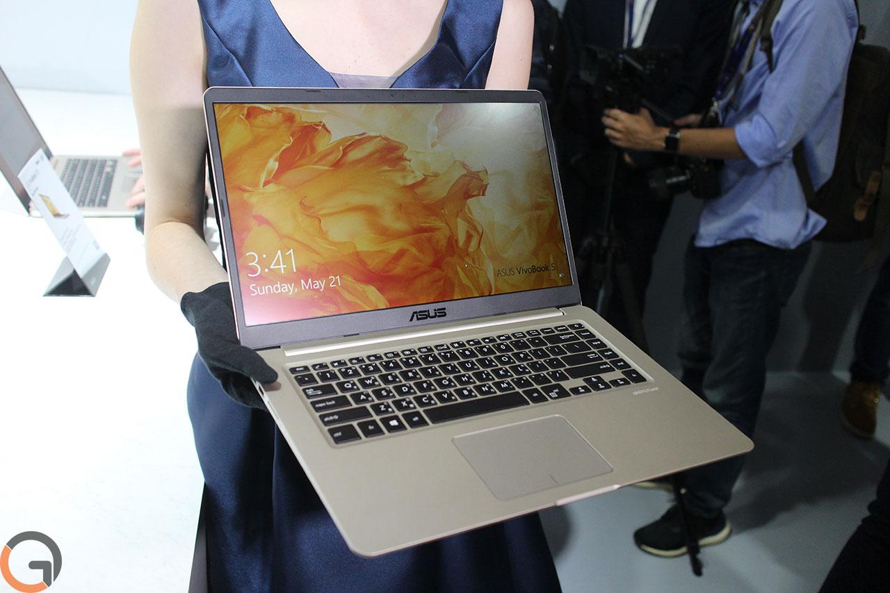 מחשב ASUS VivoBook S דגם 2017 (צילום: רונן מנדזיצקי, גאדג'טי)