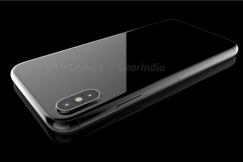 כך עשוי להיראות iPhone 8 (מקור: Onleaks)