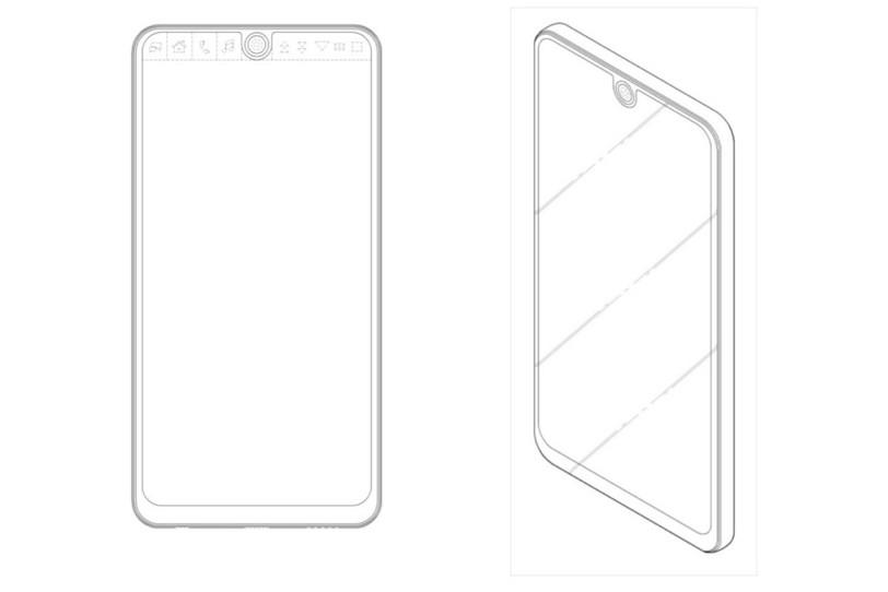 כך עשוי להיראות חלקו הקדמי של מכשיר הדגל LG V30