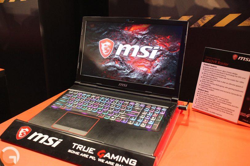 מחשב MSI GE63VR Raider (צילום: רונן מנדזיצקי, גאדג'טי)