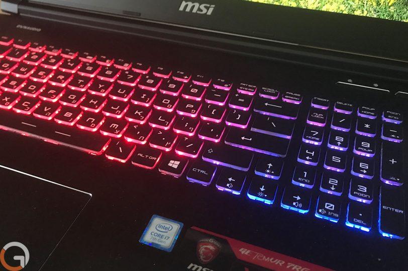מחשב MSI GE72MVR (צילום: רונן מנדזיצקי, גאדג'טי)