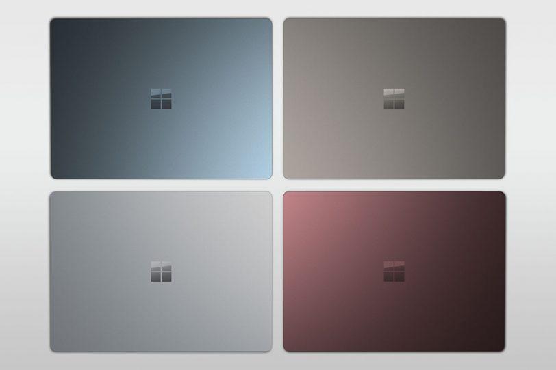 מחשבי Surface Laptop (תמונה: Microsoft)