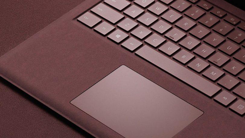 ציפוי מקלדת מחשב ה-Surface Laptop (תמונה: Microsoft)