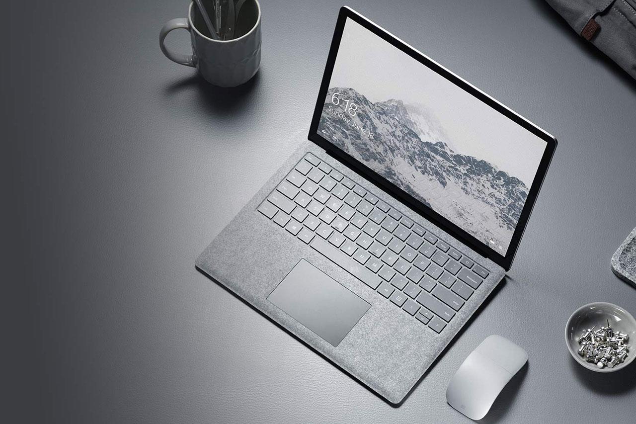 מחשב Surface Laptop (תמונה: Microsoft)