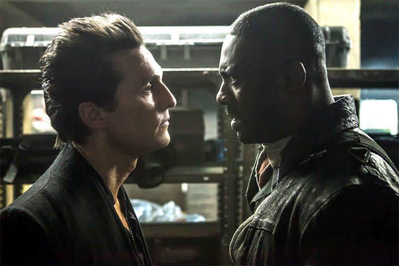 """אידריס אלבה ומתיו מקונוהי מתוך """"המגדל האפל"""" (תמונה באדיבות Sony Pictures)"""