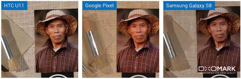 השוואת תמונות ממצלמות HTC U11, גוגל פיקסל וגלקסי S8