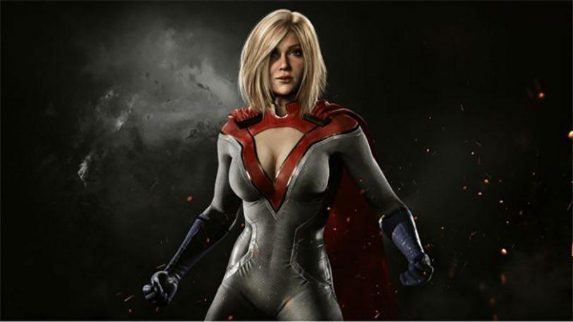 דמותה של Power Girl מתוך המשחק Injustice 2