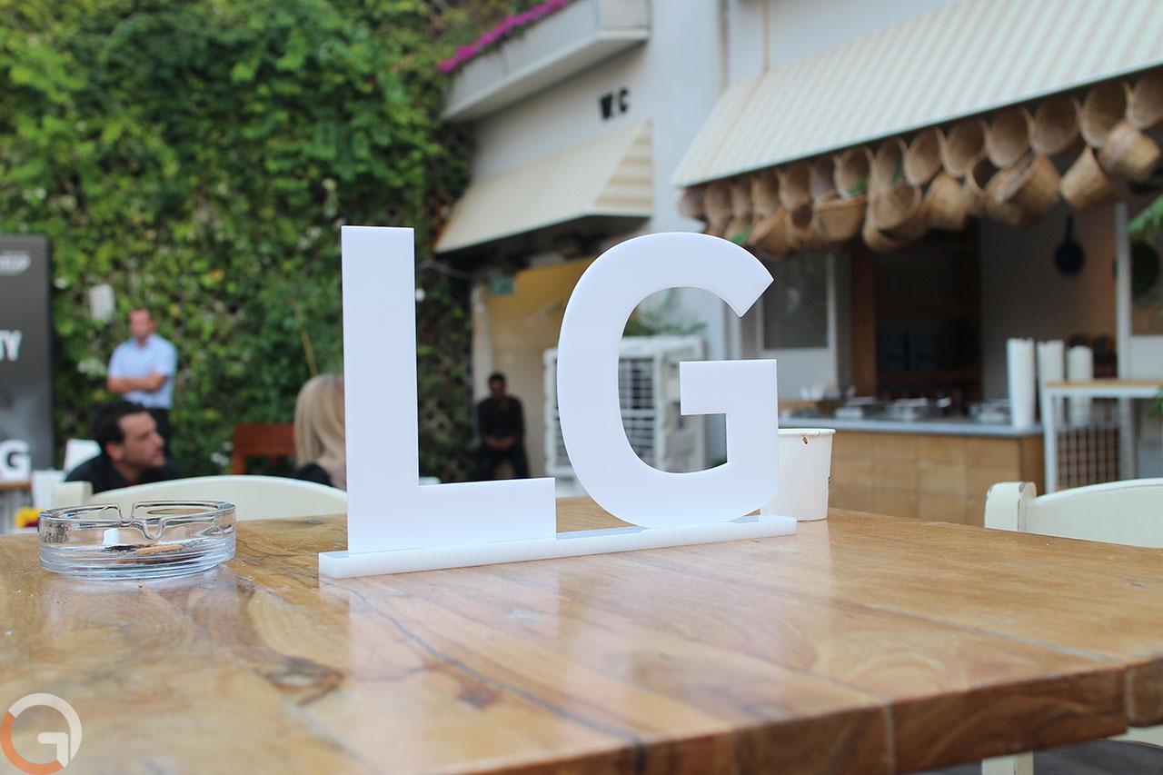 לוגו LG (צילום: רונן מנדזיצקי, גאדג'טי)