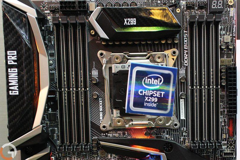 לוח האם MSI Gaming Pro Carbon AC התומך בערכת השבבים Intel X299 (צילום: רונן מנדזיצקי, גאדג'טי)