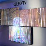 מסכי סדרת Samsung QLED (צילום: רונן מנדזיצקי, גאדג'טי)