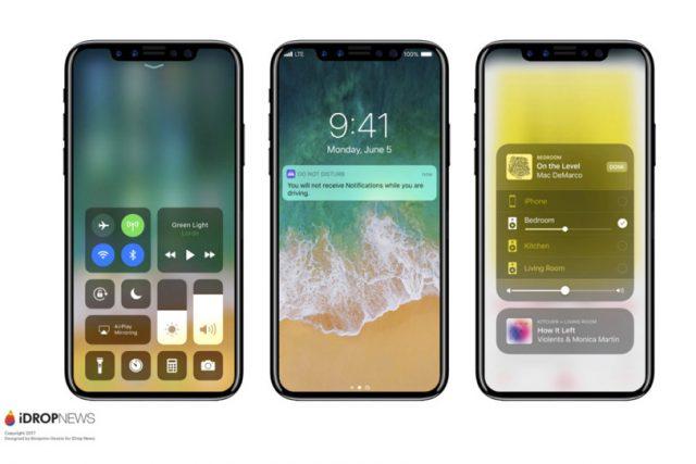 פרטים חדשים נחשפים אודות כפתור הבית ומסך האייפון 8