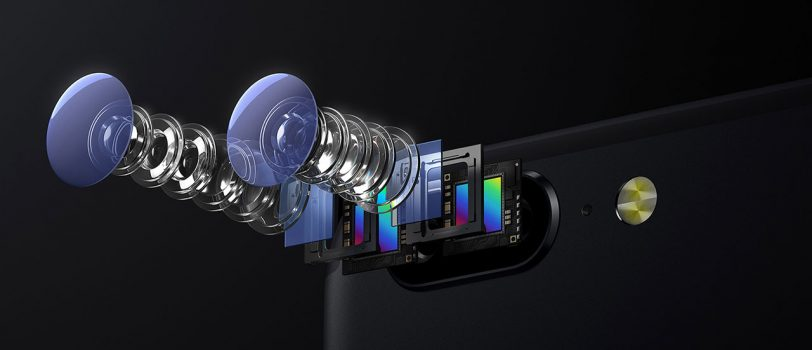 עדשות המצלמות ב-OnePlus 5 (תמונה: OnePlus)