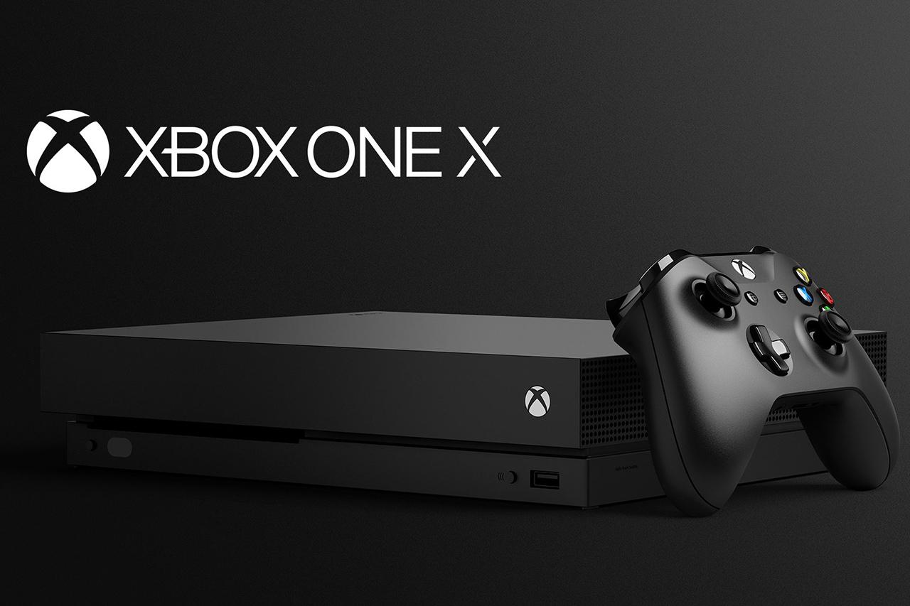 Xbox One X (תמונה: Microsoft)