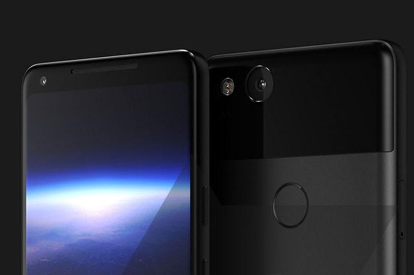 תמונת הדמיה Google Pixel 2 XL (מקור: Android Police)