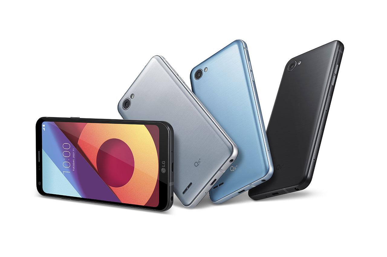 LG Q6 Plus (תמונה: :LG Electronics)