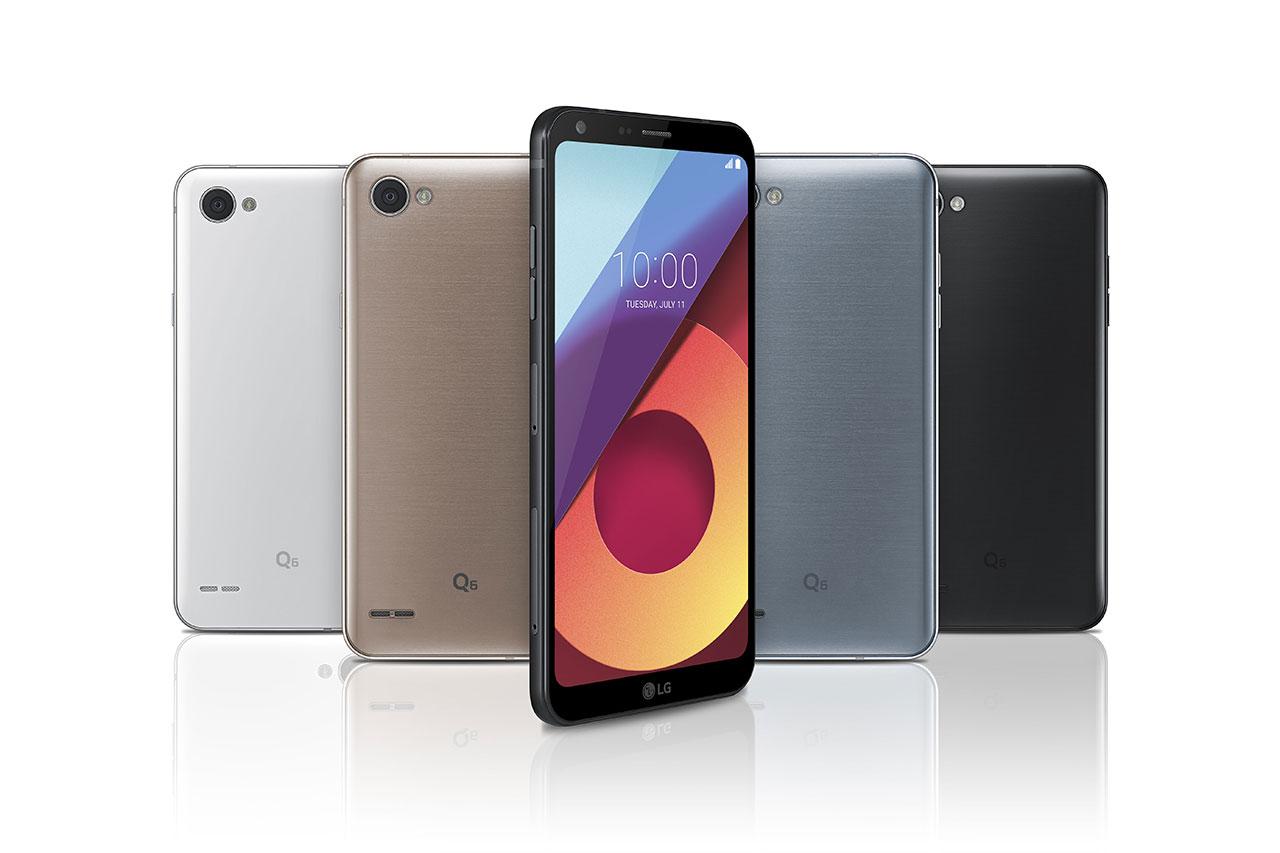 סדרת LG Q6 (תמונה: :LG Electronics)