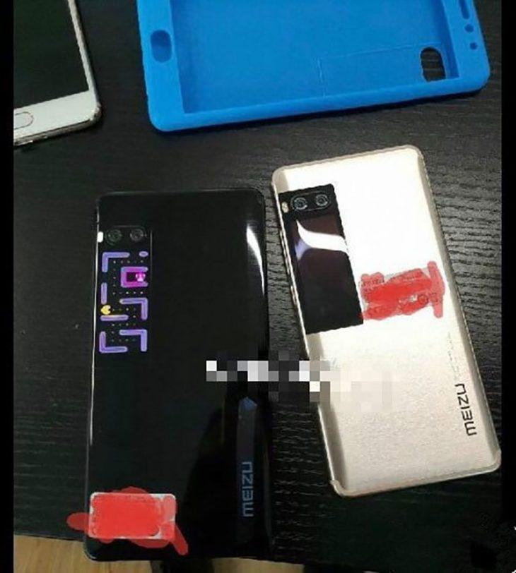 מימין לשמאל: Meizu Pro 7 ו-Pro 7 Plus (הדלפה)
