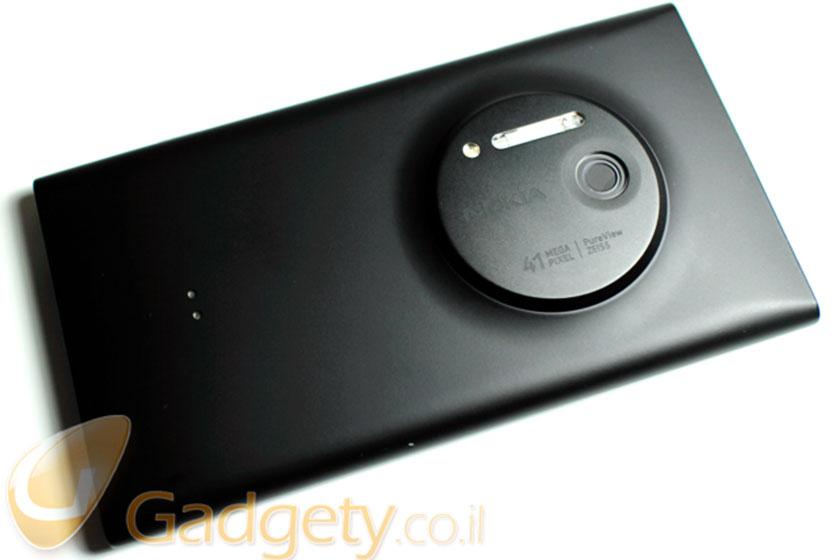 Nokia Lumia 1020 (צילום: אוהד צדוק, גאדג'טי)