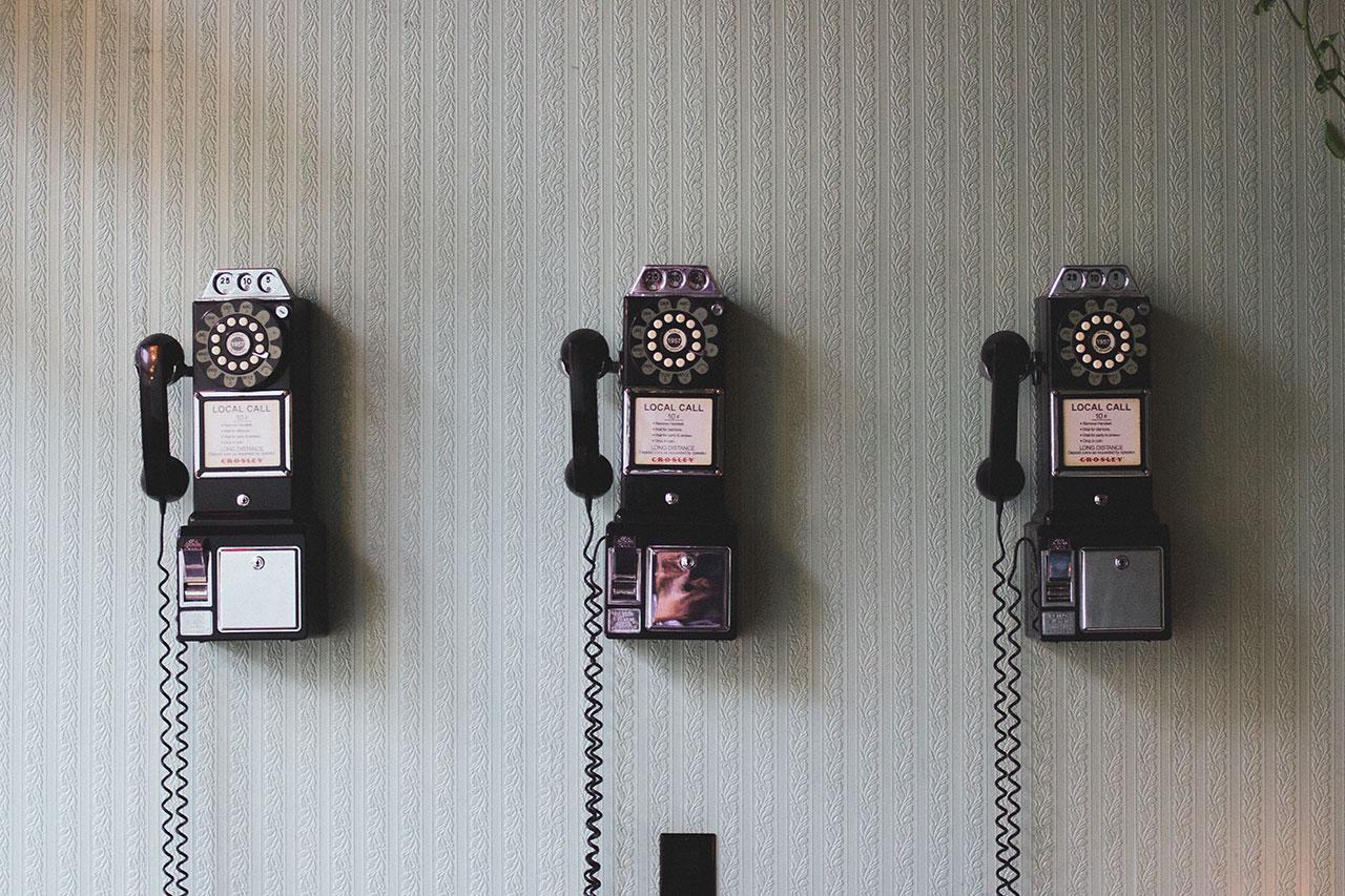 טלפונים בשורה