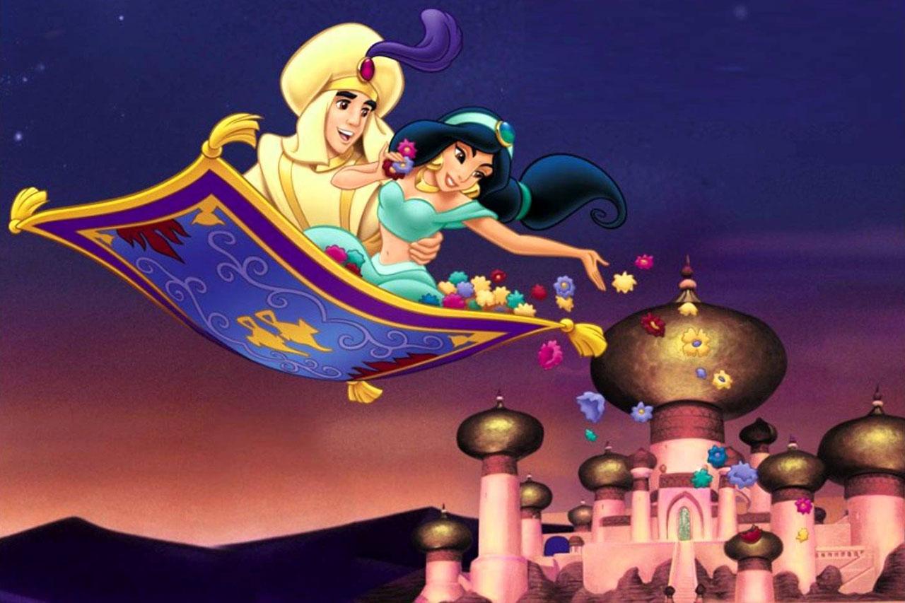 מתוך הסרט אלאדין (תמונה באדיבות Disney)