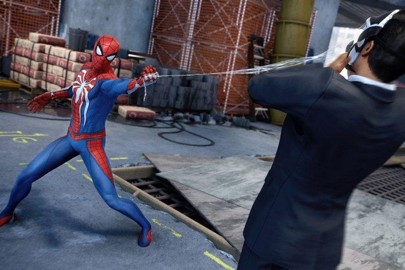 מתוך המשחק Spider-Man לפלייסטיישן 4