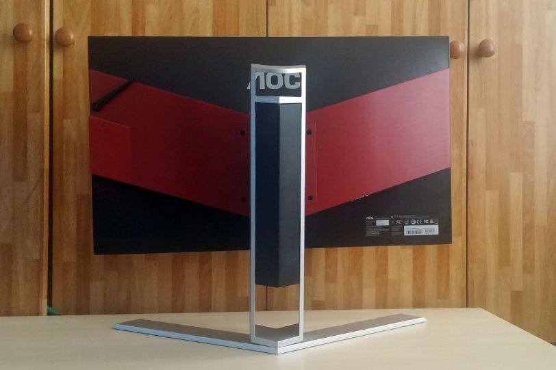 מסך מחשב AGON (צילום: אורי כרמי)