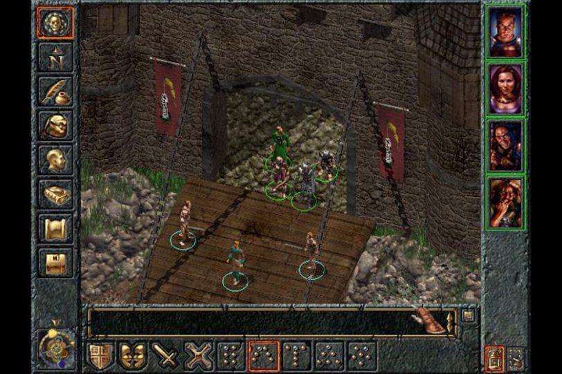 מתוך המשחק Baldur's Gate