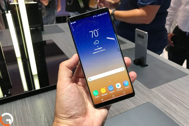מחירו של ה-Galaxy Note 8 בישראל יעמוד על 4,000 שקלים