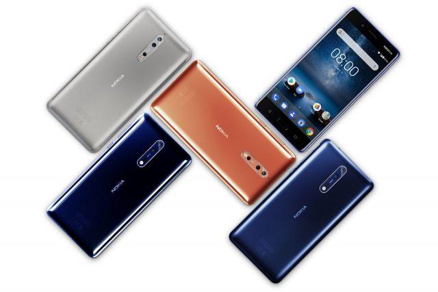 הוכרז: Nokia 8 – מכשיר הדגל הראשון בדור החדש של נוקיה
