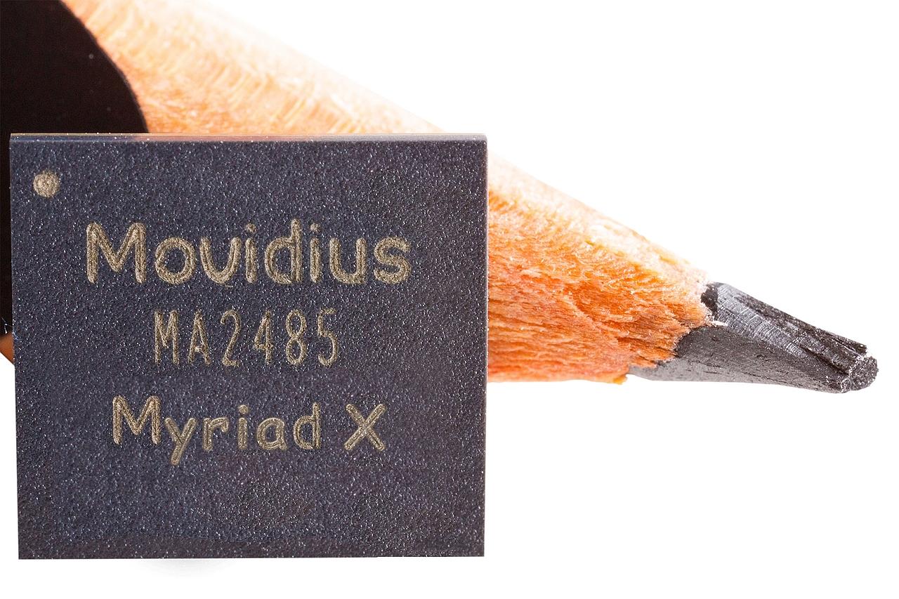 שבב Intel Myriad X (תמונה באדיבות אינטל)