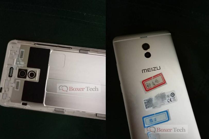 הפאנל האחורי של Meizu M6 Note (הדלפה)