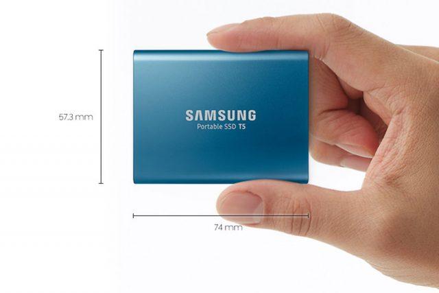 הוכרז: Samsung Portable SSD T5 – עם חיבור USB-C ומהירות 540MB/s
