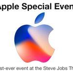 הזמנת אפל לאירוע ההכרזה על iPhone 8/X ו-iPhone 7S