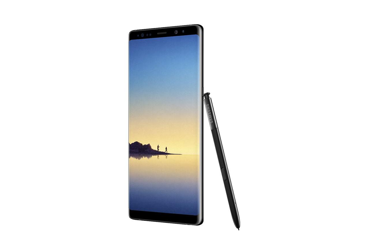 Samsung Galaxy Note8 (תמונה: Evan Blass / Twitter)
