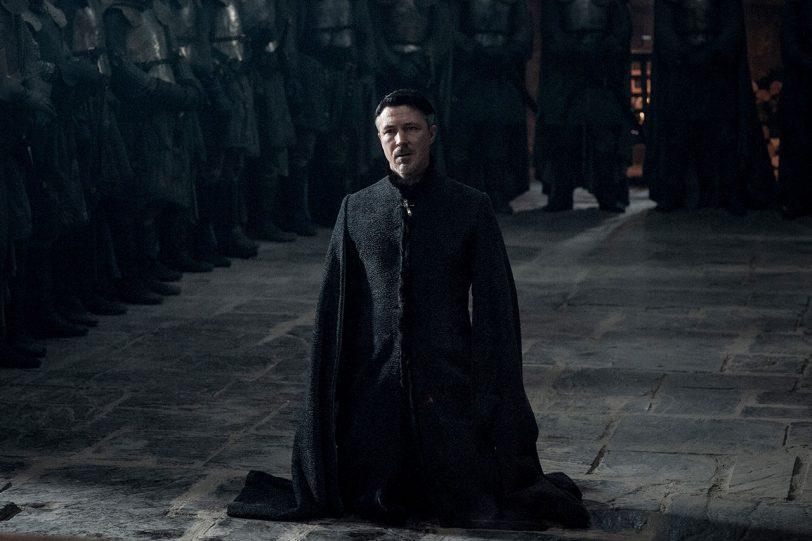 """בייליש מתוך """"משחקי הכס"""", עונה 7 פרק 7 (תמונה באדיבות HBO)"""