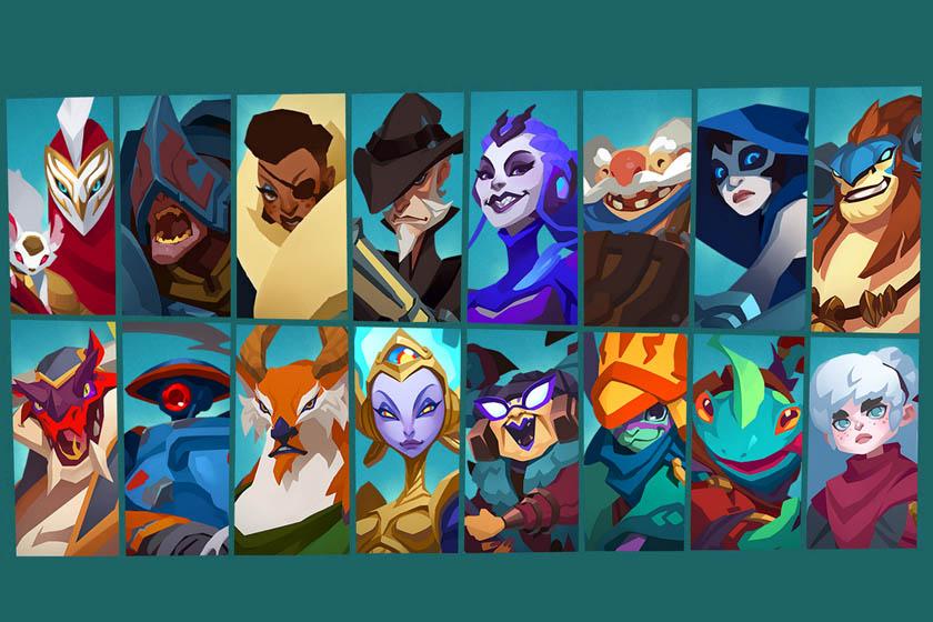 הדמויות שיצאו עד כה. Gigantic (תמונה: Motiga)