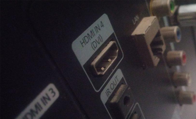 מחבר HDMI בטלוויזיה
