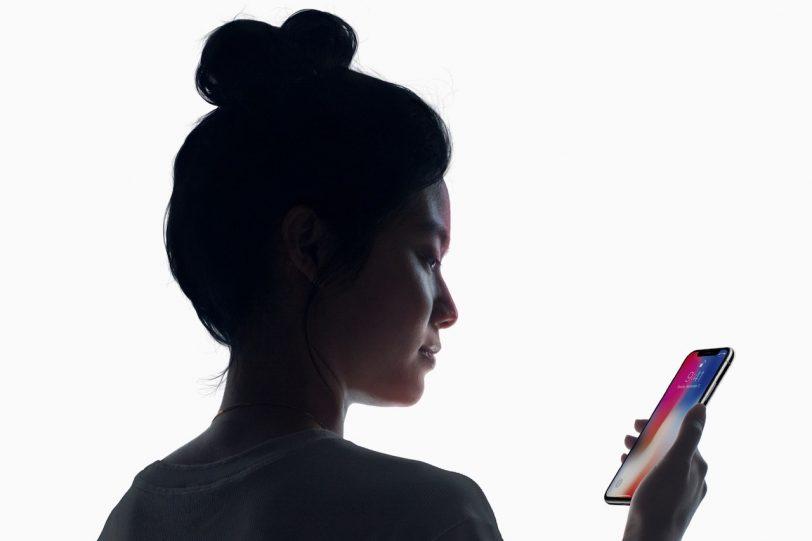 Face ID ב-iPhone X (מקור: אפל)