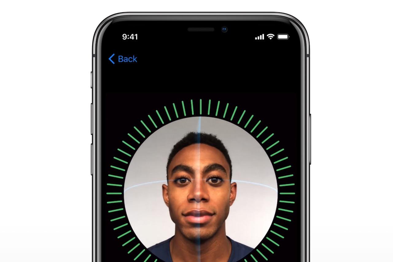 Face ID ב-iPhone X (מקור: apple.com)