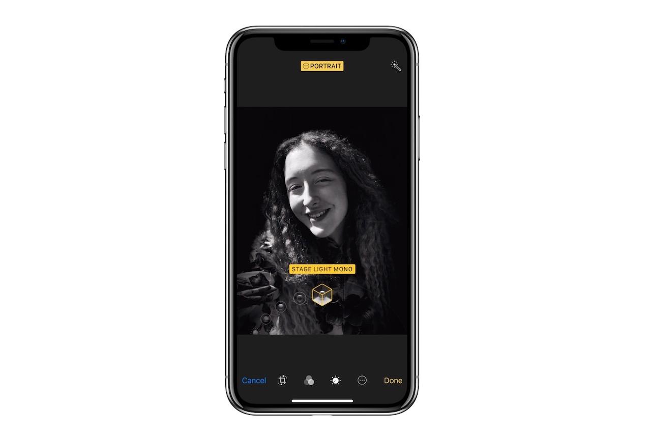 Portrait Mode באייפון X (מקור: apple.com)