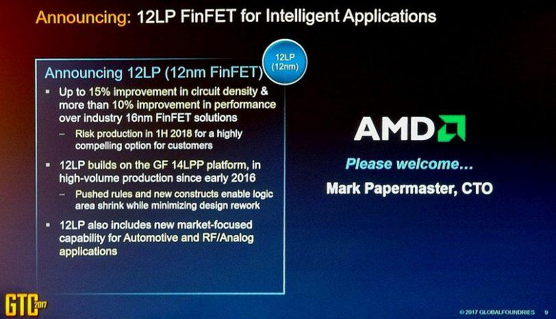 הכרזת AMD על מעבר ליצור ב-12nm