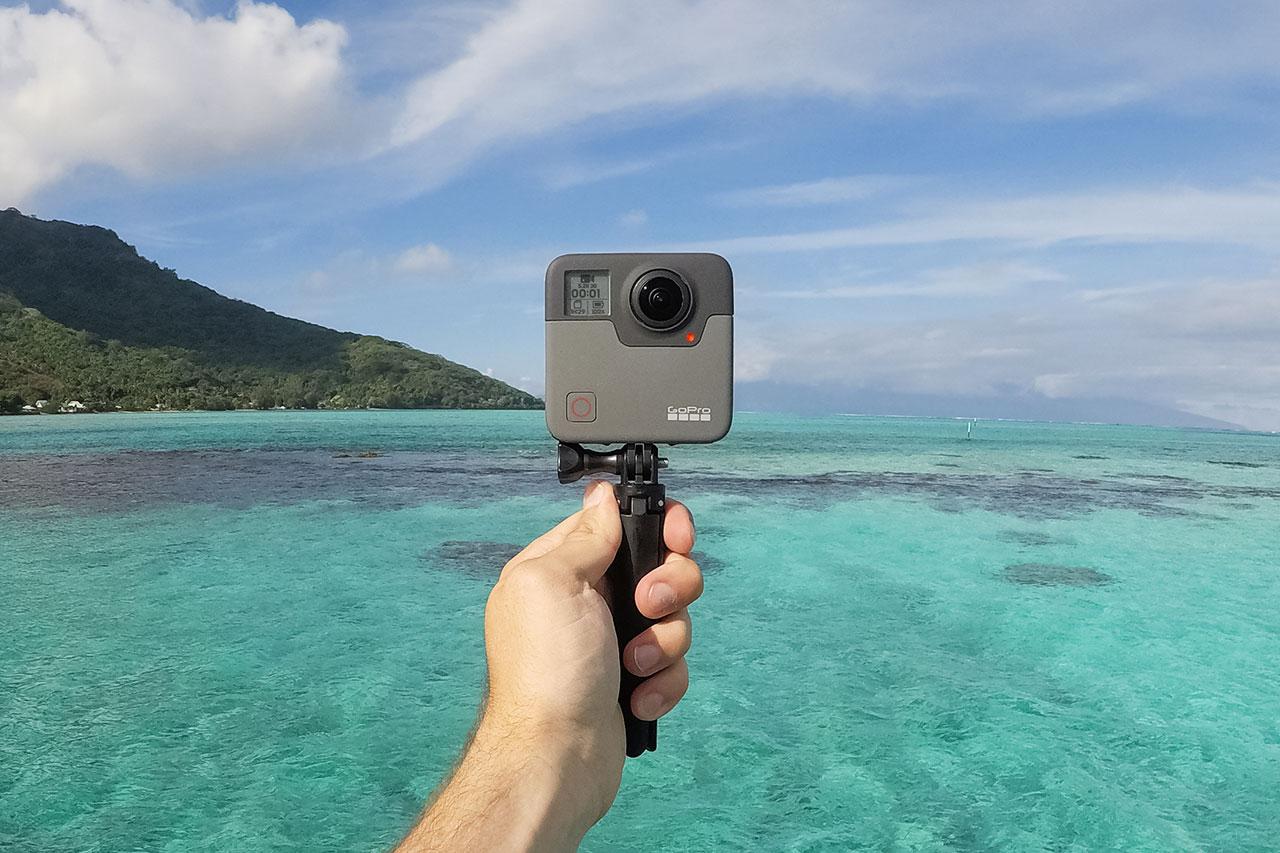מצלמת GoPro Fusion (תמונה באדיבות GoPro)