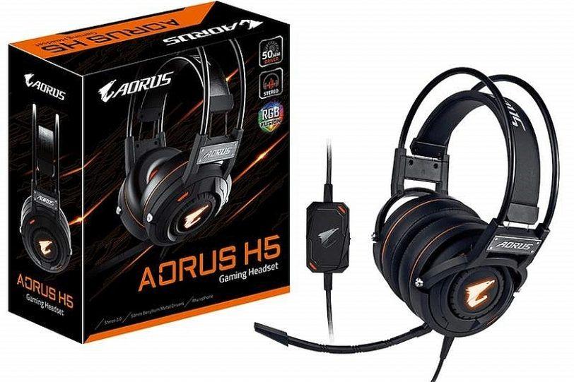 אוזניות AORUS H5 (באדיבות ג'יגהבייט)