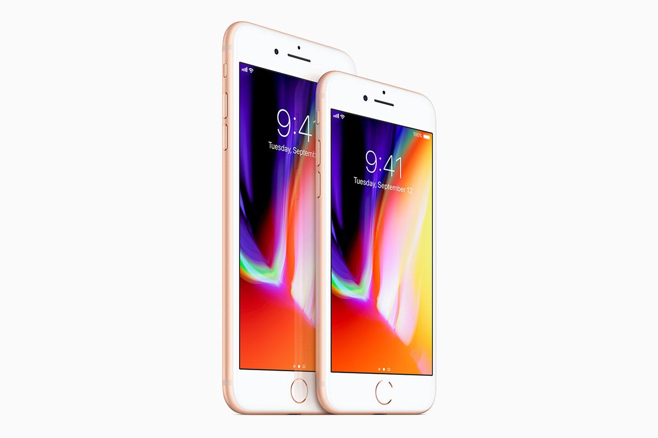 אייפון 8 ואייפון 8 פלוס (תמונה באדיבות Apple)