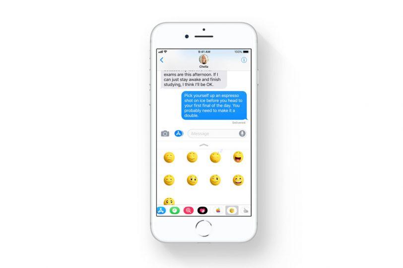אפליקציית iMessage ב-iOS 11