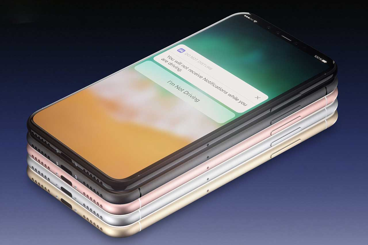 אייפון 8 (אילוסטרציה). מקור תמונה: Martin Hajek, טוויטר: deplaatjesmaker@