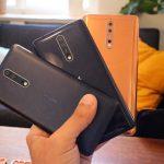 מכשירי Nokia 8 (צילום: אוהד צדוק, גאדג'טי)