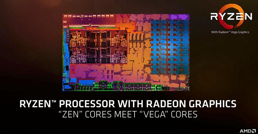 מעבד AMD Raven Ridge