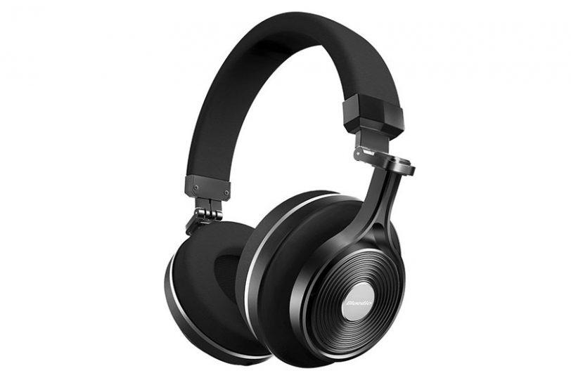 אוזניות בלוטות' אלחוטיות Bluedio T3 Plus עם מיקרופון מובנה